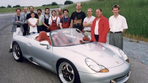 Looking Back at the Boxster On Its 25th…