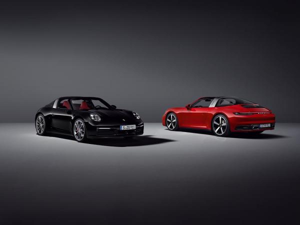 photo of Elegant, extravagant and unique: the new Porsche 911 Targa image
