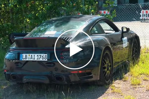 Is This Mysterious Prototype A New Porsche 911 Sport Classic?