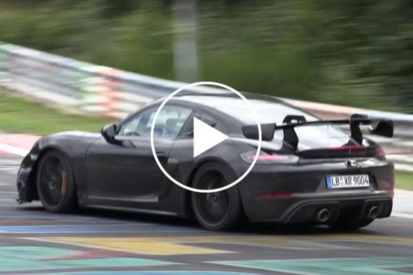Watch The Porsche Cayman GT4 RS Dominate The Nurburgring