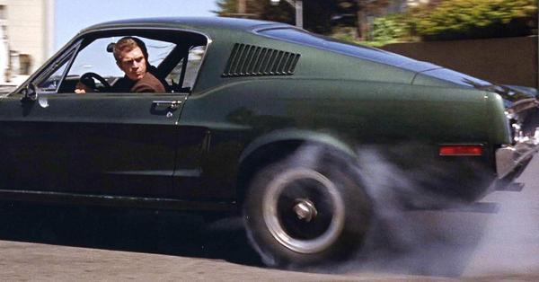 Steve McQueen's 'Bullitt' Mustang…