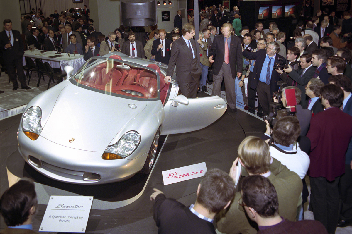How One '90s Concept Car Saved Porsche as We Know It