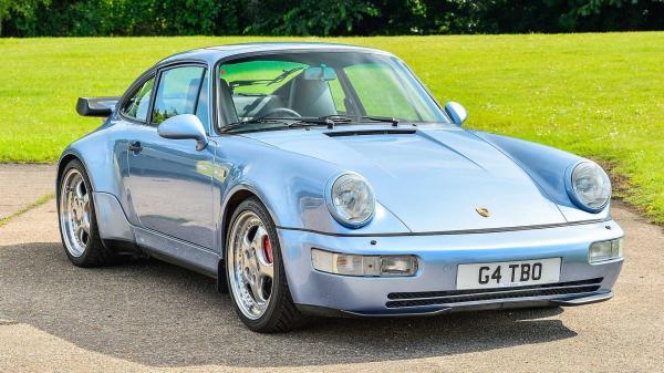 Jenson Button's Porsche Commissioned By…