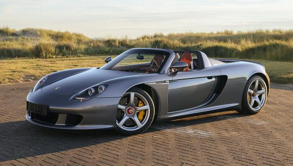 2004 Porsche Carrera GT Once Owned by F1 Champ Jenson Button Sold for $975,000