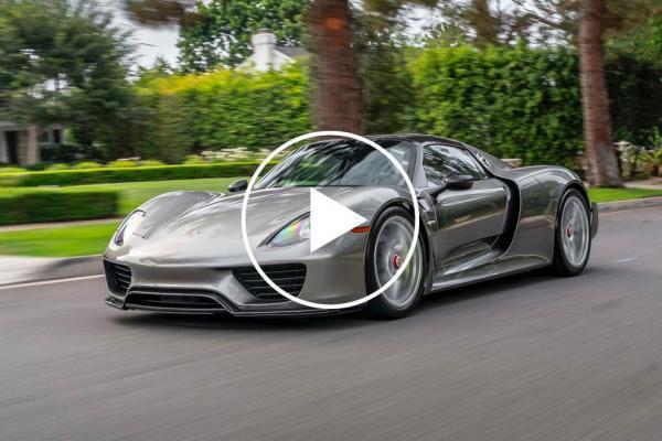 5,000-Mile Porsche 918 Spyder Breaks…