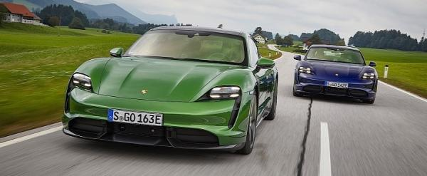 """photo of 2021 Porsche Taycan """"Base Model"""" Coming June 29th, Expected With RWD image"""
