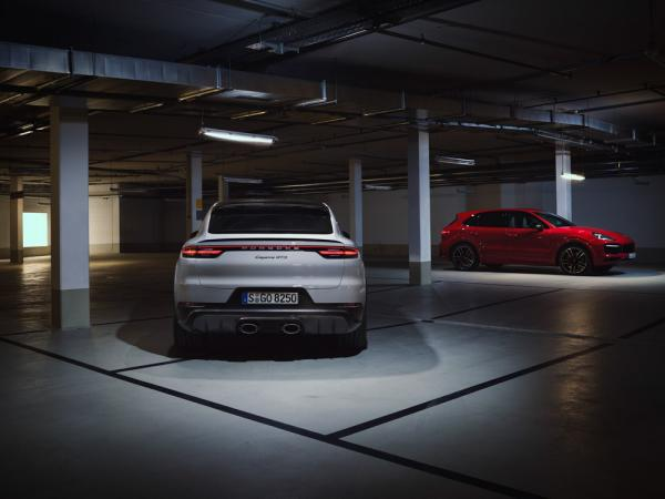 photo of The new Porsche Cayenne GTS models have by a V8 engine again image