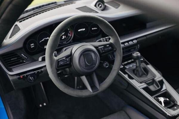 Leaked! Take A Look Inside The New Porsche 911 GT3