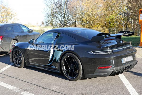 New Porsche 911 GT3 Spied Up Close And Personal