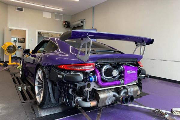 photo of World's First Supercharged Porsche 911 GT3 RS Sounds Insane image