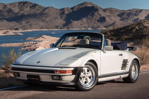 photo of Weekly Treasure: 1988 Porsche 911 Turbo Cabrio Slant Nose image