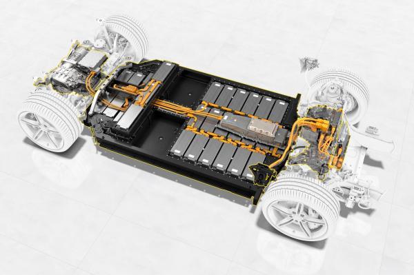 Porsche's High-Performance EV Battery…