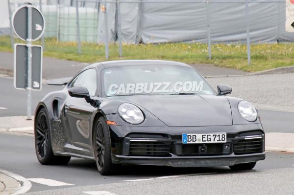 Hybrid Porsche 911 Turbo Spied On The Nurburgring