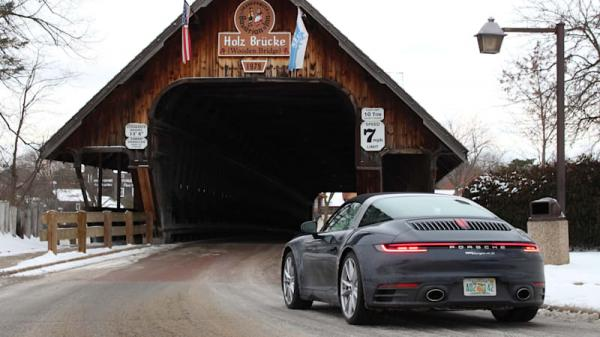 photo of 2021 Porsche 911 Targa 4S Road Test Review | Driving to Germany, sort of image