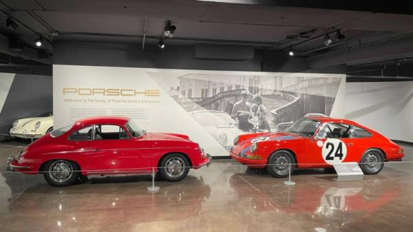 Porsche Santa Clarita's Wunderground Museum Is An Amazing Sampling Of Porsche History