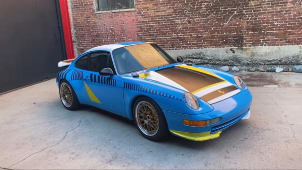 "Here's How Magnus Walker Created An ""Art Car"" The Old Fashioned Way"