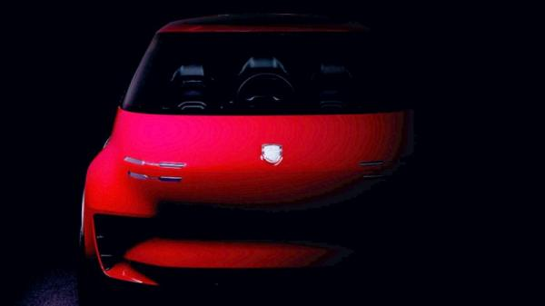 Porsche's mysterious three-seater looks more like the Apple Car than like a 911