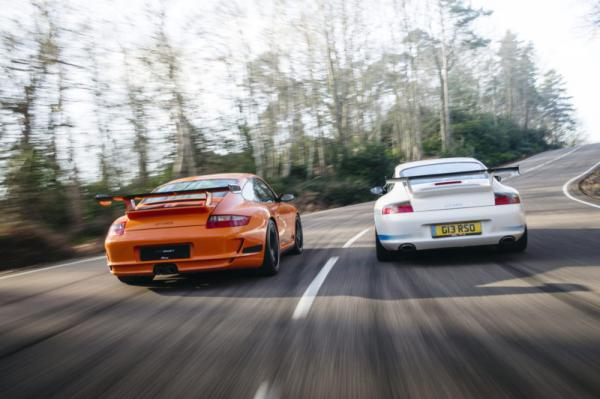 Battle of the early modern Rennsports: 996 v 997.1 GT3 RS