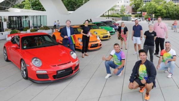 Porsche celebrates Gay Pride