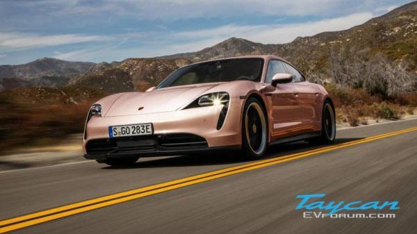 The Porsche Taycan Comes In Pink Oh My…
