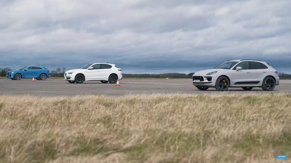 How Does The Porsche Macan Turbo Perform In A Drag Race?