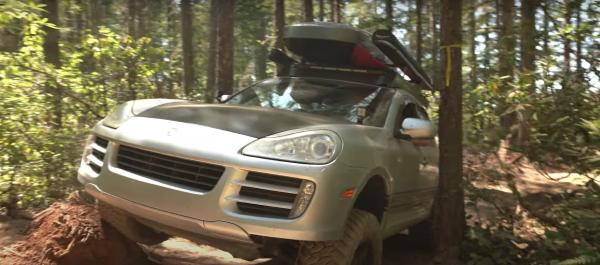 Former Navy Guy Is Living in His Porsche Cayenne S Turned Off-Road SUV/Camper