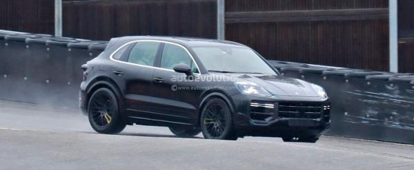 Here Is a 2022 Cayenne Turbo Facelift…