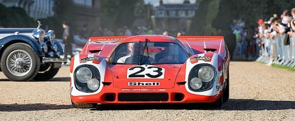 Le Mans-Winning Porsche 917 Rocks British Concours of Elegance