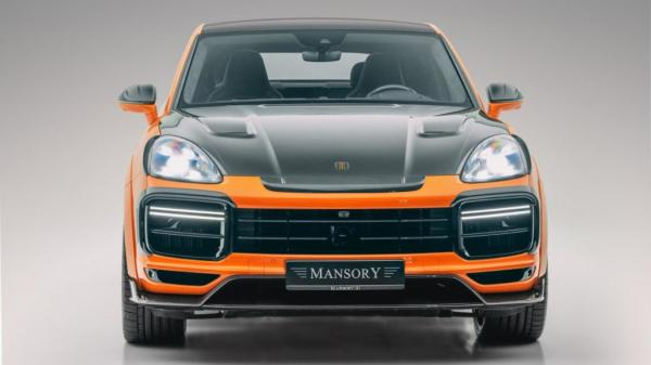 Mansory Will Crank Up Your Porsche Cayenne With 700 Horsepower And Utterly Baffling Bodywork