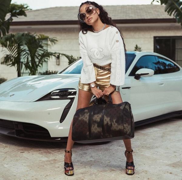 Natti Natasha and Her Porsche Taycan…