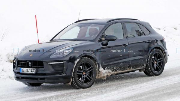 Next-Gen Porsche Macan Test Mule Spied…
