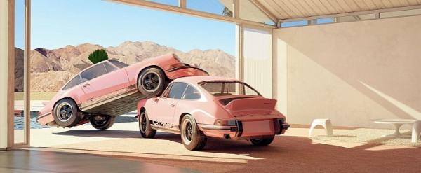Porsche 911 Carrera RS 2.7 Towering Over…