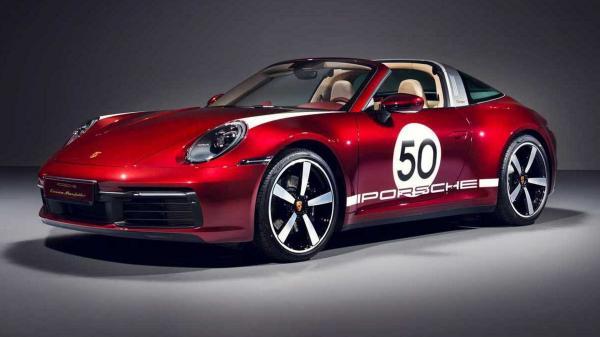 2021 Porsche 911 4S Targa Heritage…