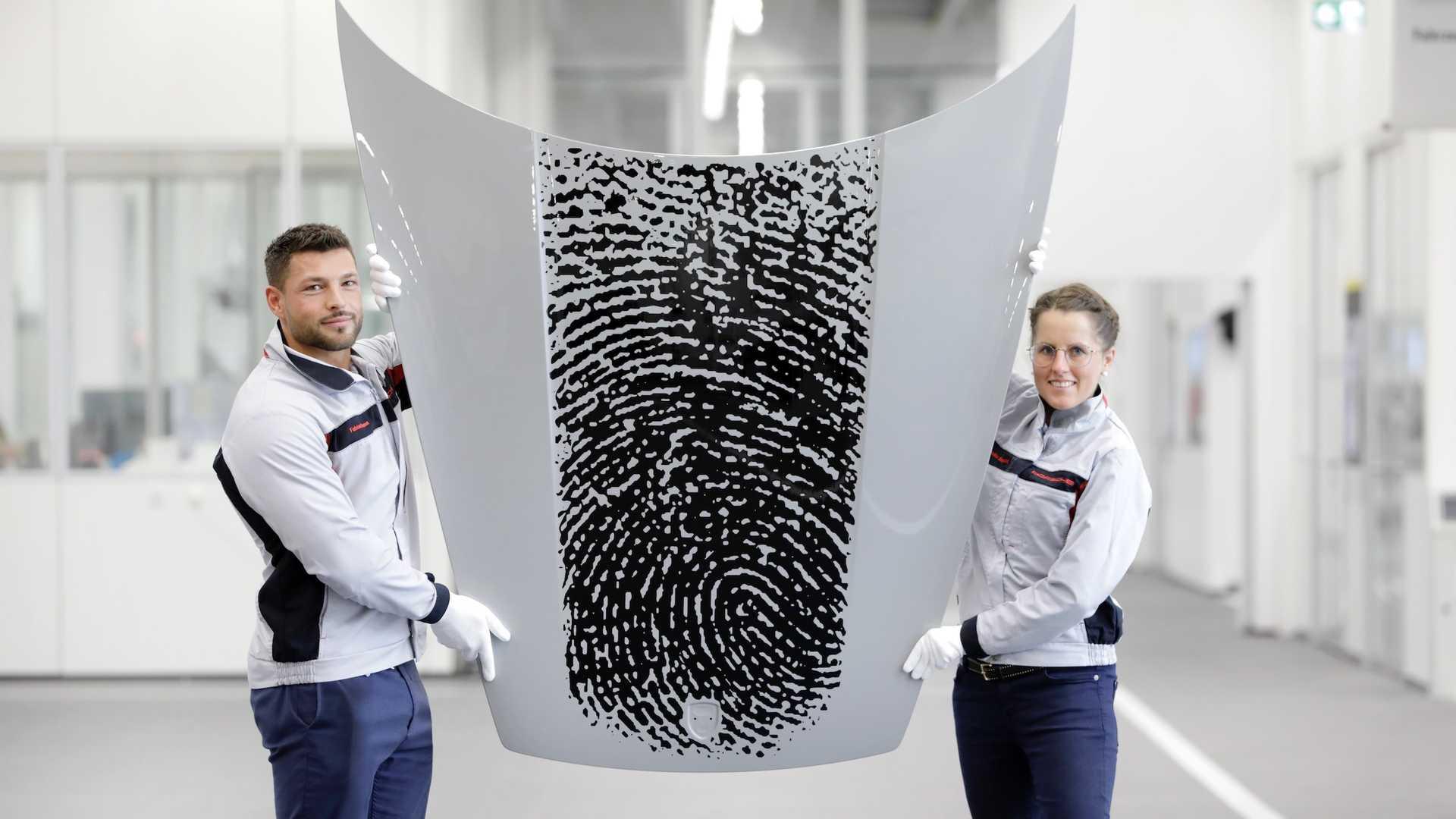 Porsche Will Put Your Fingerprint On A 911 For $8,100