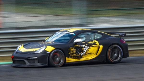 Porsche Cayman GT4 Clubsport Sounds…