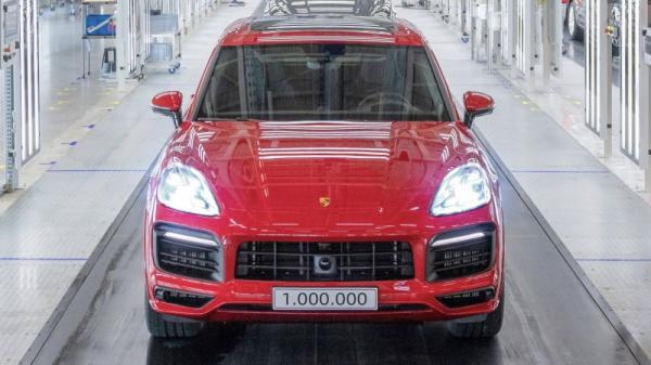 photo of Porsche celebrates 18 years, three generations, and a million units of the Cayenne image