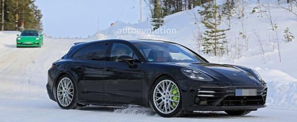 Porsche Panamera Sport Turismo Spied…