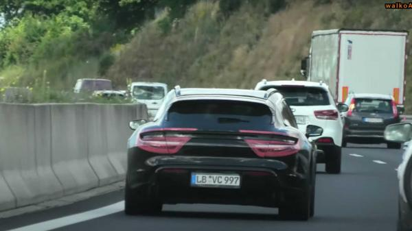 Porsche Taycan Cross Turismo Briefly…
