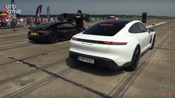 Porsche Taycan Turbo S Proves…
