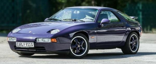 Purple 1994 Porsche 928 GTS Was Shown in Frankfurt, Can Be Yours Now