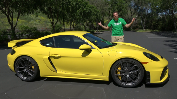 2020 Porsche Cayman GT4 Becomes Doug…